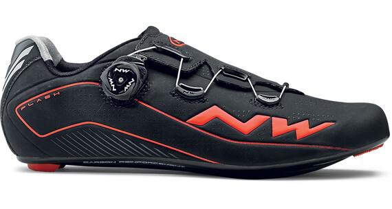 Northwave Flash schoenen Heren oranje/zwart